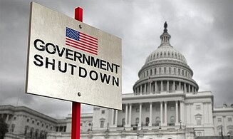 Shutdown in US government? In G-d we trust
