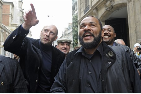 Dieudonne with former far-right National Fron