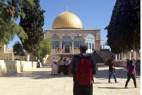 Undeterred: Jews are visiting the Temple Mount in increasing numbers despite intimidation
