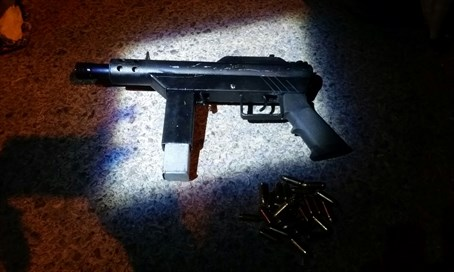 Weapon found in suspicious car at Tapuah junction