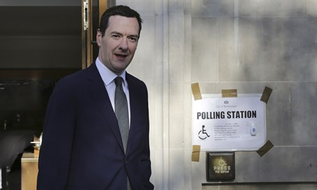 Britain's treasury chief George Osborne