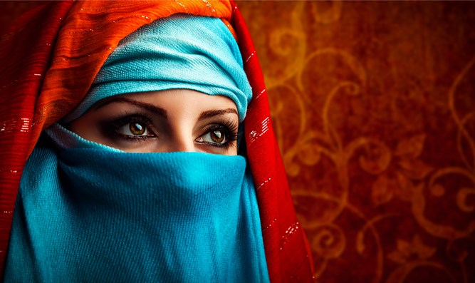 Arab woman (illustrative)