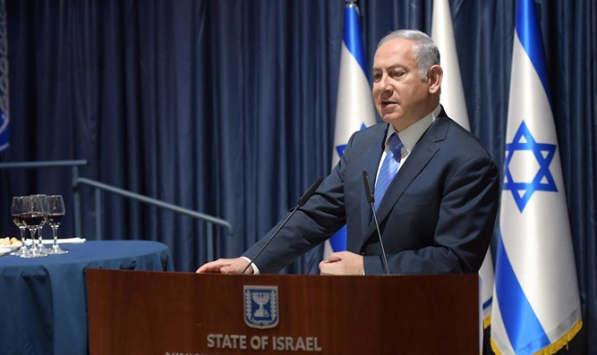 Netanyahu at the Foreign Ministry