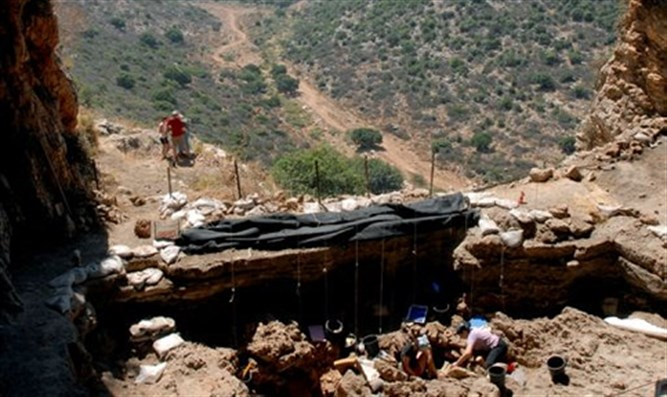 Dig site at Raqefet (Archive image)