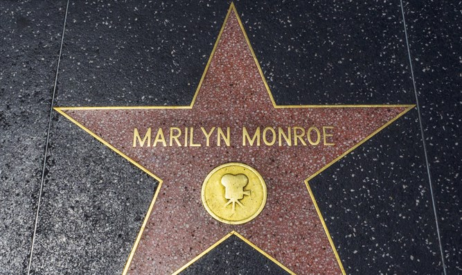 Marilyn Monroe's star on Hollywood Walk of Fame