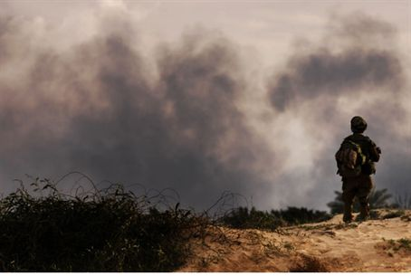 Combat near Gaza (file)