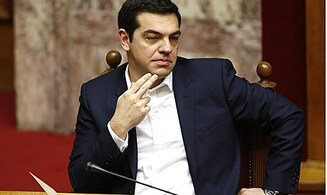 Greek PM Flip-Flops on Bailout