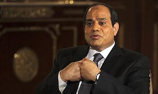 Egyptian President meets American Jewish leaders