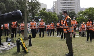 Remembering the fallen in the time of corona: Ceremony held for sailors lost on the Dakar