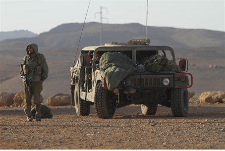 IDF jeep (illustrative)