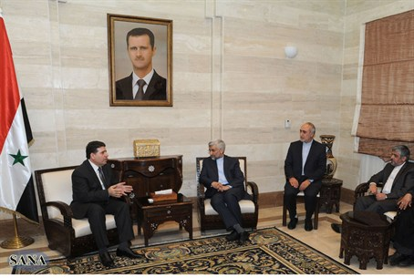 Syrian and Iranian officials meet in Damascus