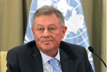 UN envoy Robert Serry