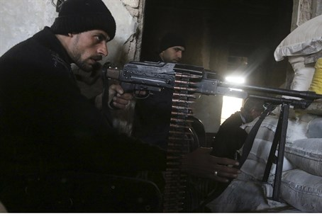 The Syrian army is having a hard time contending with Sunni Islamist rebels
