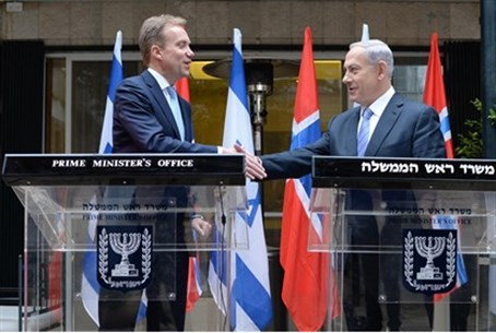 Netanyahu and Brende