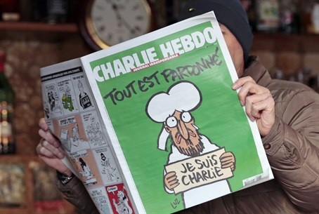 "The ""offensive picture"": Cover of latest issue of Charlie Hebdo"