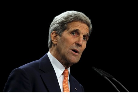 John Kerry speaks after signing of Iran deal