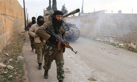 Al-Nusra Front fighters