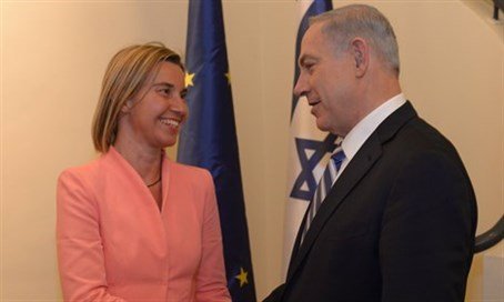 Mogherini and Netanyahu