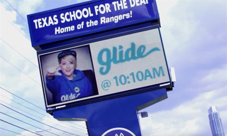 Glide promotion at Texas school for the Deaf