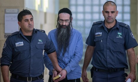 Yishai Schlissel after conviction, April 2016
