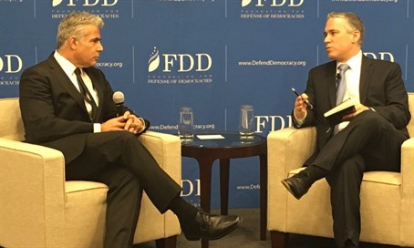 Lapid at the Foundation for Defense of Democracies