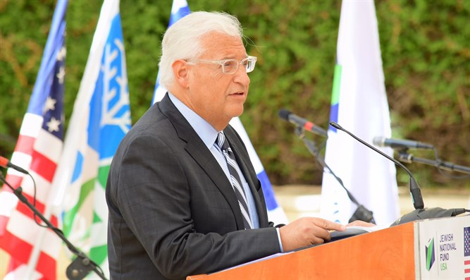 David Friedman speaks at 9/11 memorial ceremony