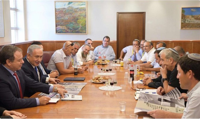 Yesha Council with Prime Minister