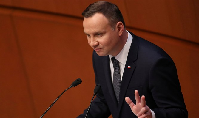Polish President Andrzej Duda will have to sign the bill into law