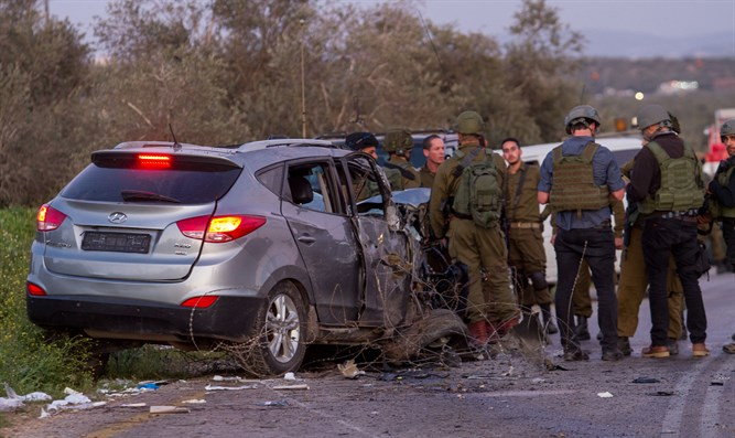 Ramming attack in Samaria (illustrative)