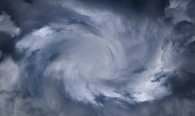 Hurricane cloud