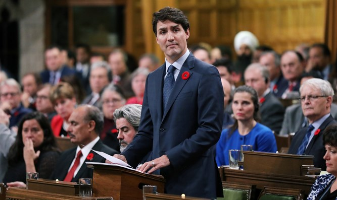 Trudeau delivers a formal apology over the fate of the MS St. Louis and its passengers