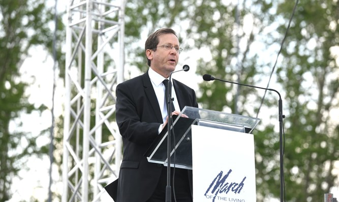 Isaac Herzog at March of the Living 2019