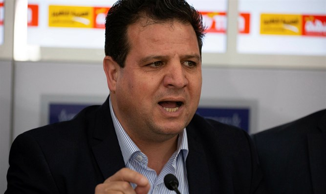 Joint List chairman Ayman Odeh