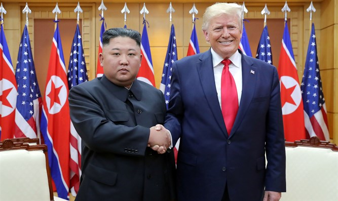 Kim Jong Un and Donald Trump