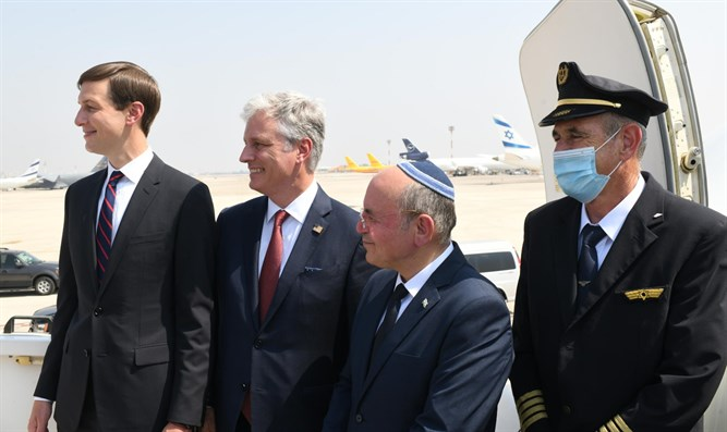 US, Israeli delegations in Abu Dhabi