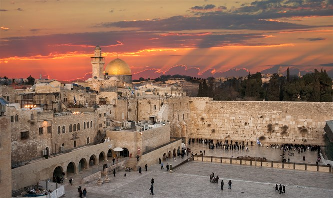Temple Mt and Kotel plaza