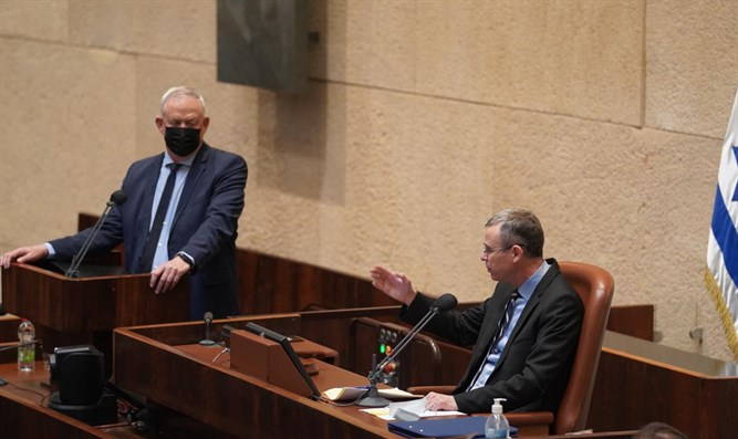 Yariv Levin and Benny Gantz